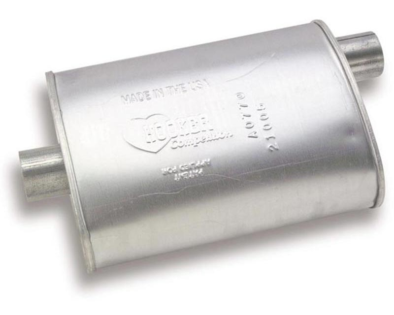 Hooker 21005HKR Competition Turbo Muffler
