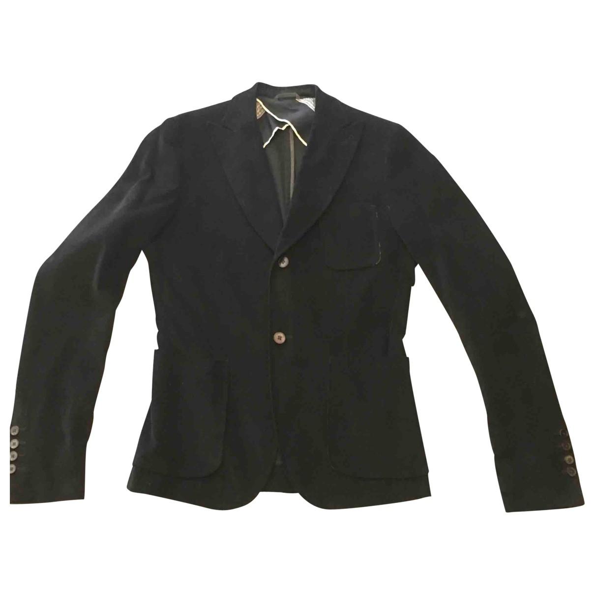 Moma \N Black Cotton jacket  for Men 50 IT
