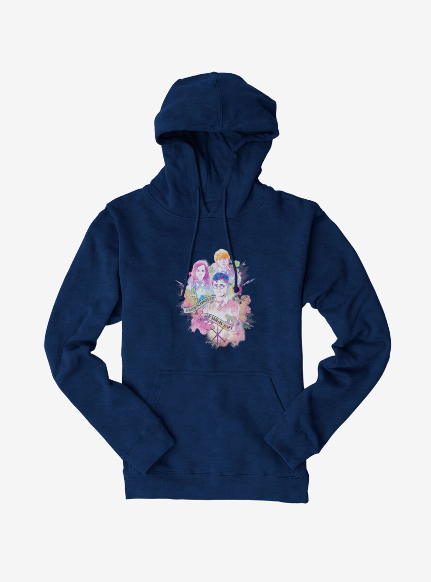 Harry Potter Friendship And Bravery Hoodie