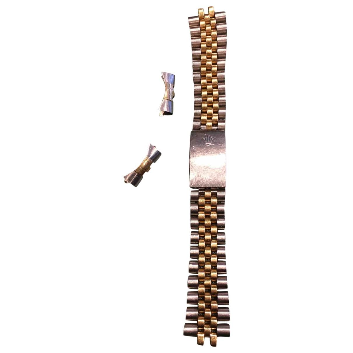Rolex - Montre   pour homme en or et acier - argente