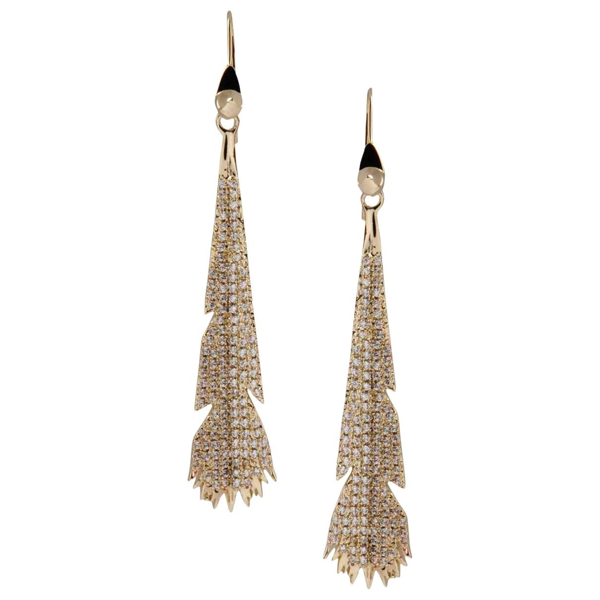 Eddie Borgo \N Gold Metal Earrings for Women \N
