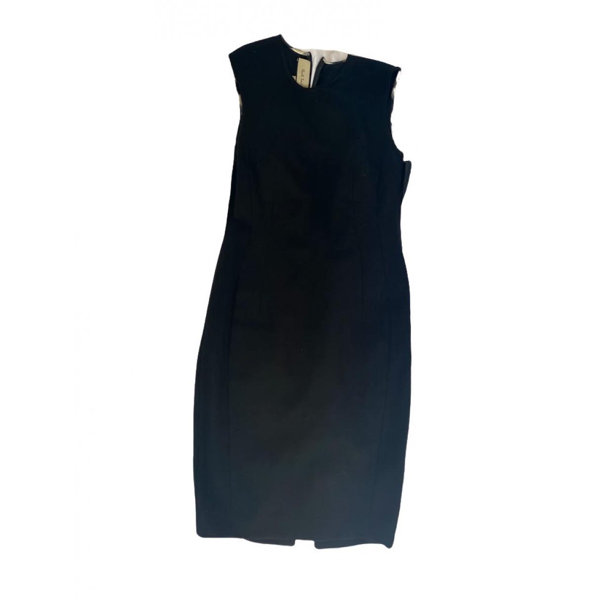 Paul Smith \N Kleid in  Schwarz Baumwolle