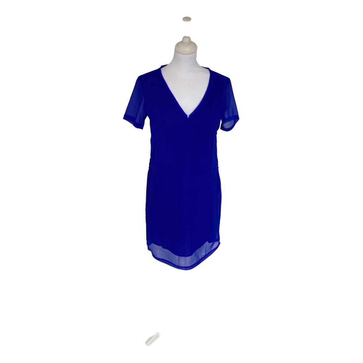 Eleven Paris \N Kleid in  Blau Polyester