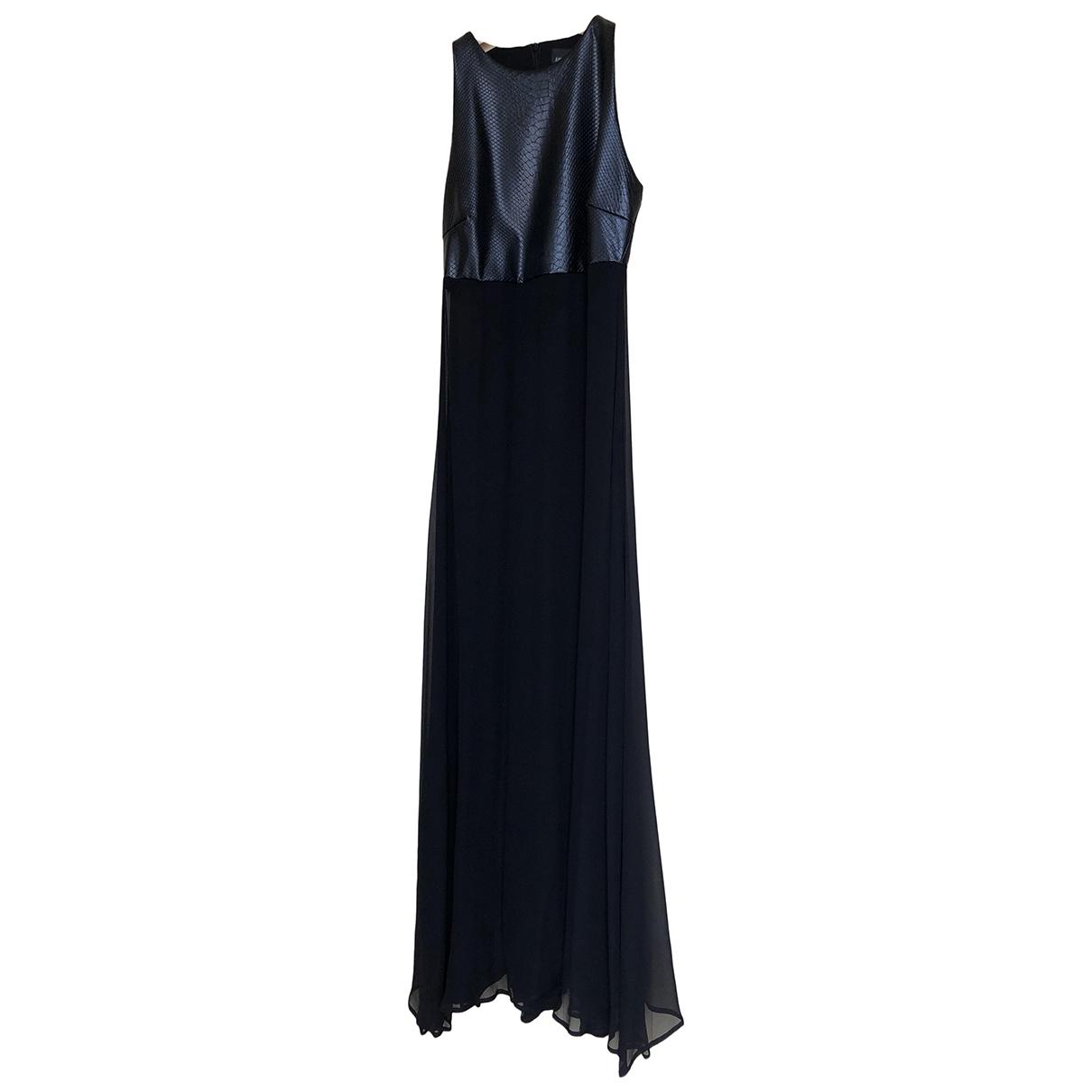 Ermanno Scervino \N Kleid in  Schwarz Seide