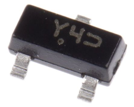 ON Semiconductor , 15V Zener Diode 250 mW, 300 mW SMT 3-Pin SOT-23 (300)