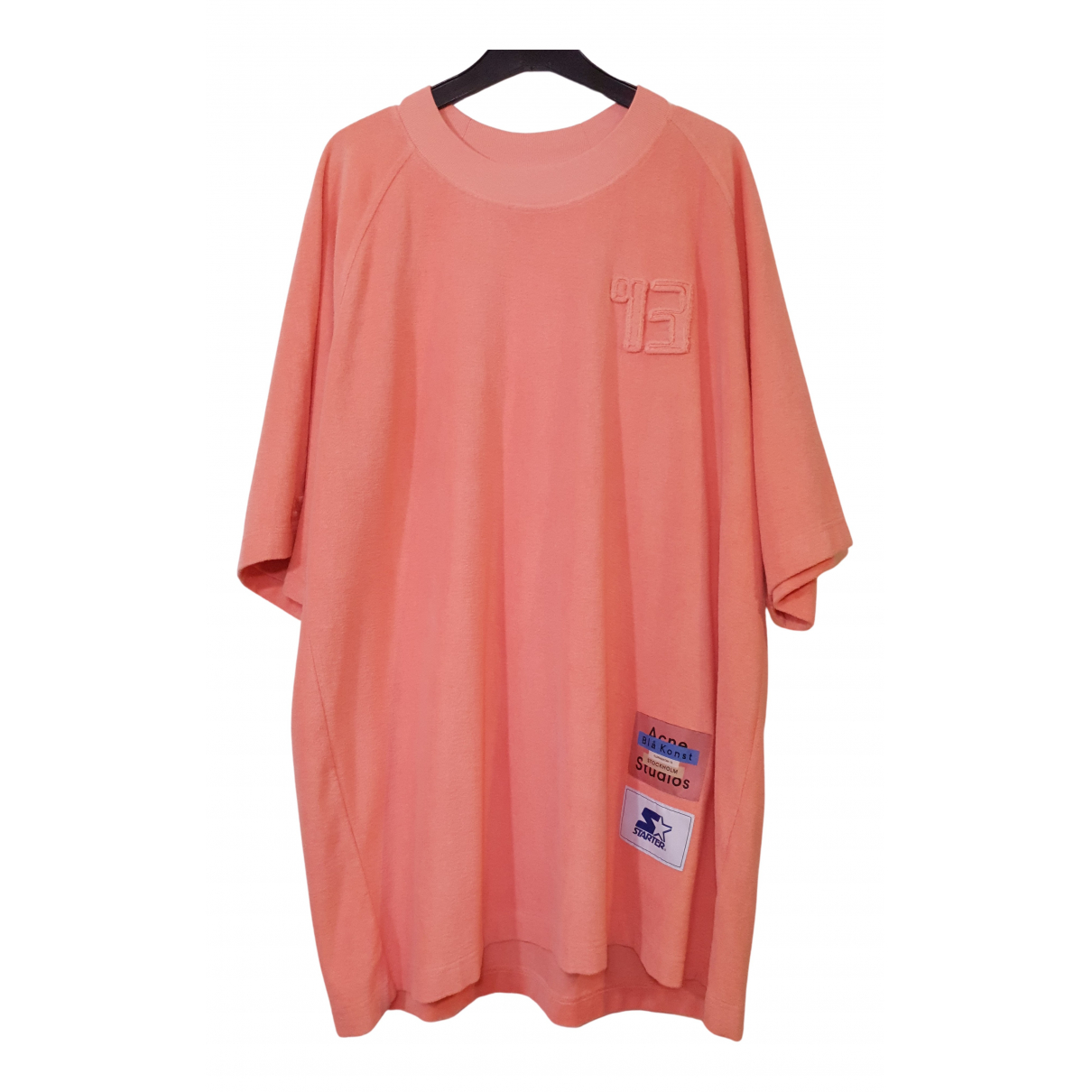Acne Studios N Pink Cotton T-shirts for Men XL International
