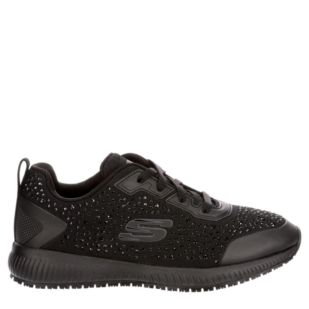 Skechers Womens Squad-Prout Work Shoes