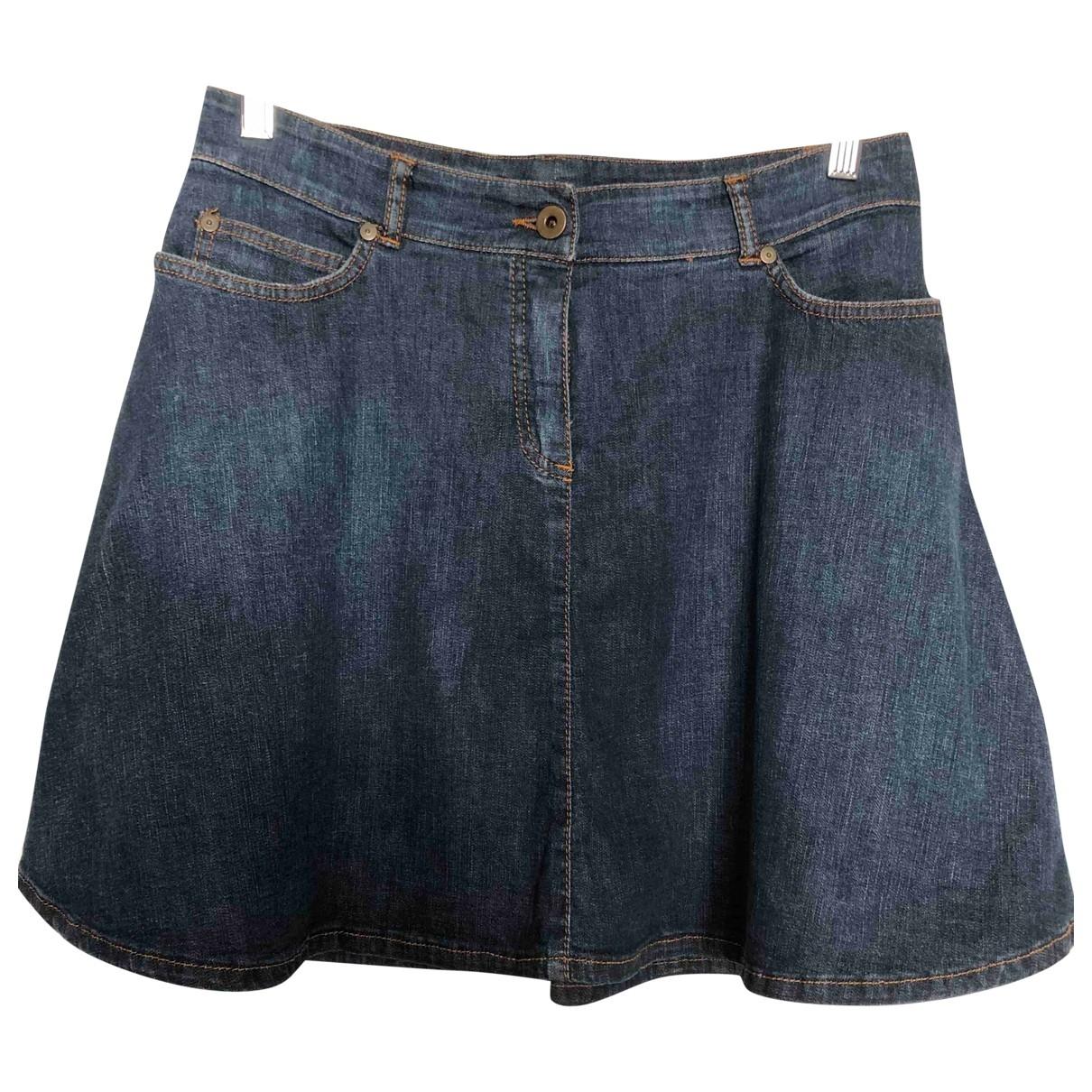 Miu Miu \N Rocke in  Blau Denim - Jeans