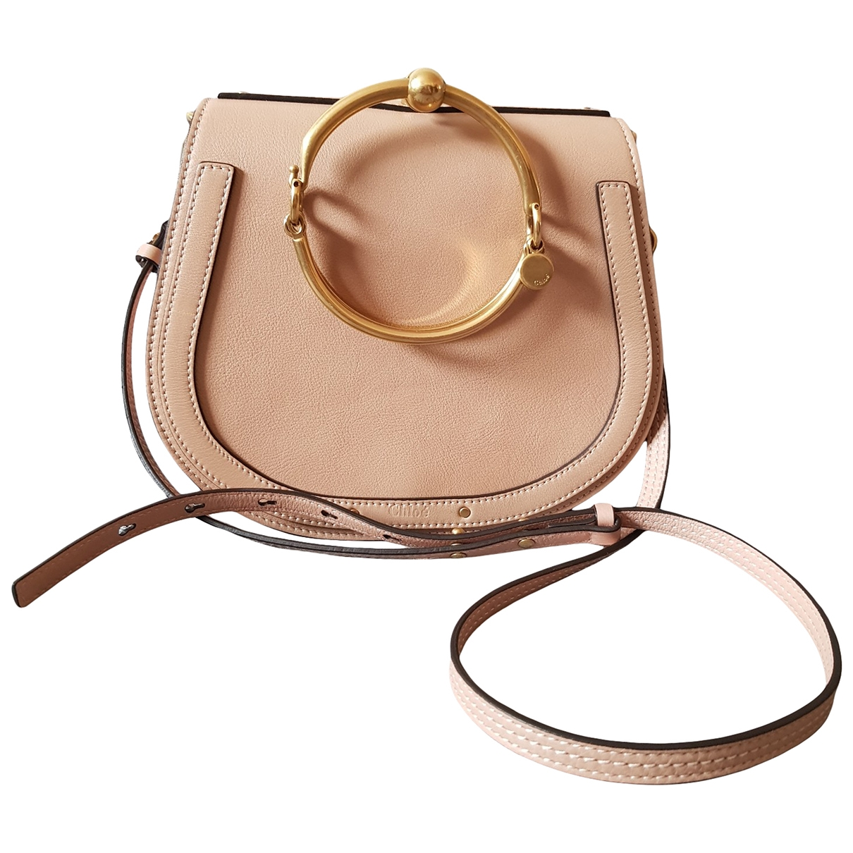 Chloé Bracelet Nile Pink Leather handbag for Women \N