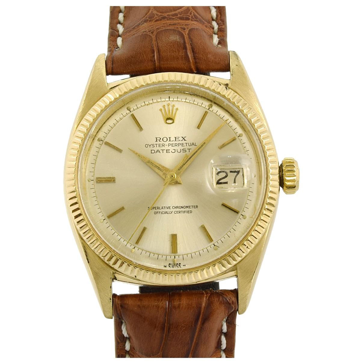 Relojes Datejust 31mm de Oro amarillo Rolex