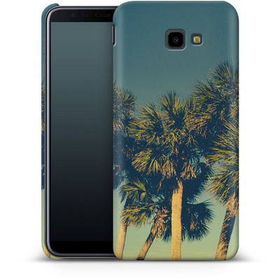 Samsung Galaxy J4 Plus Smartphone Huelle - Sea Palms von Joy StClaire