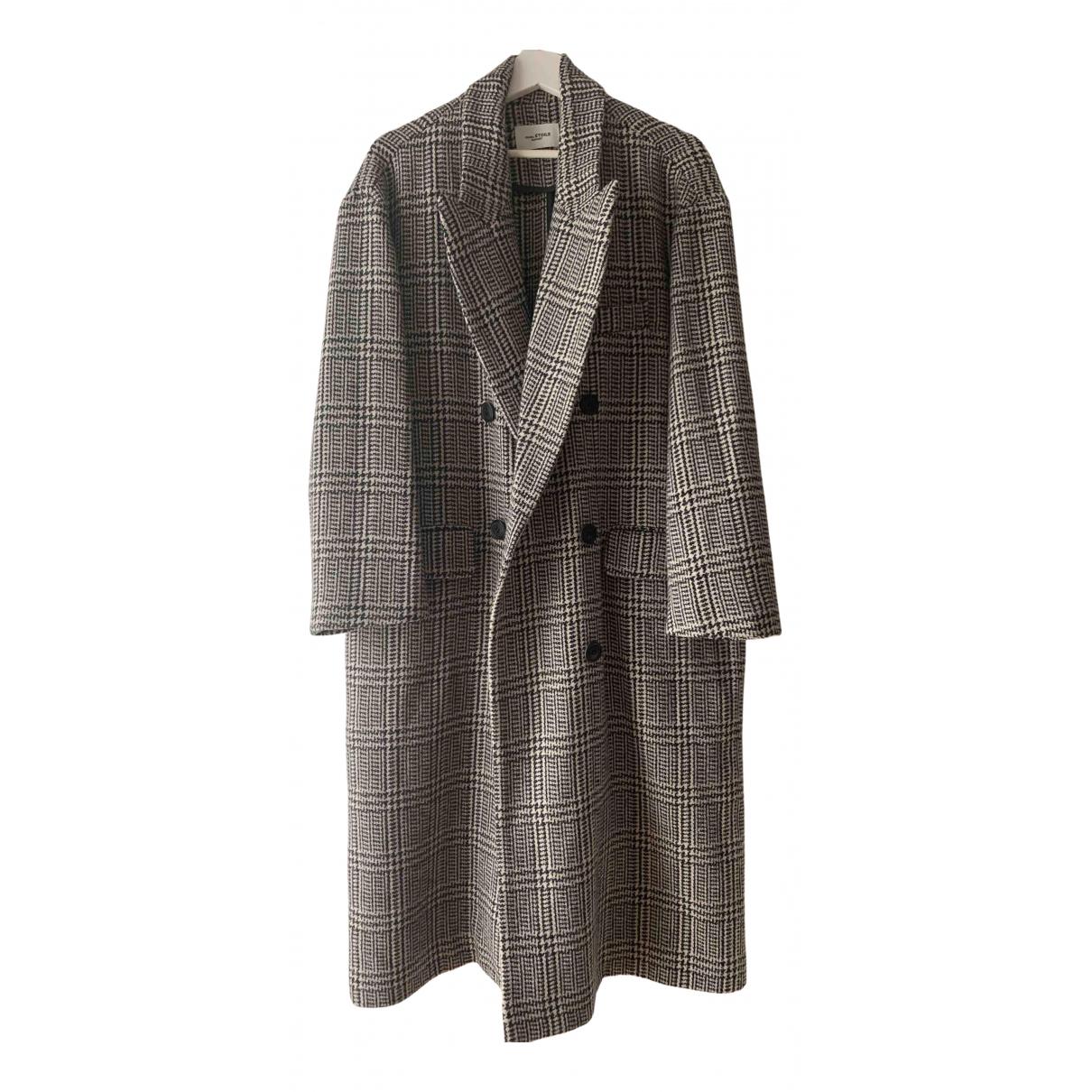 Isabel Marant Etoile - Manteau   pour femme en laine - gris