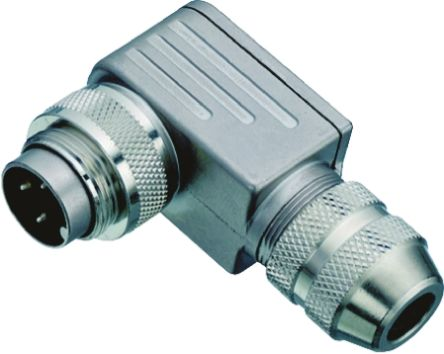 Binder Connector, 19 contacts Cable Mount Miniature Socket, Solder IP67