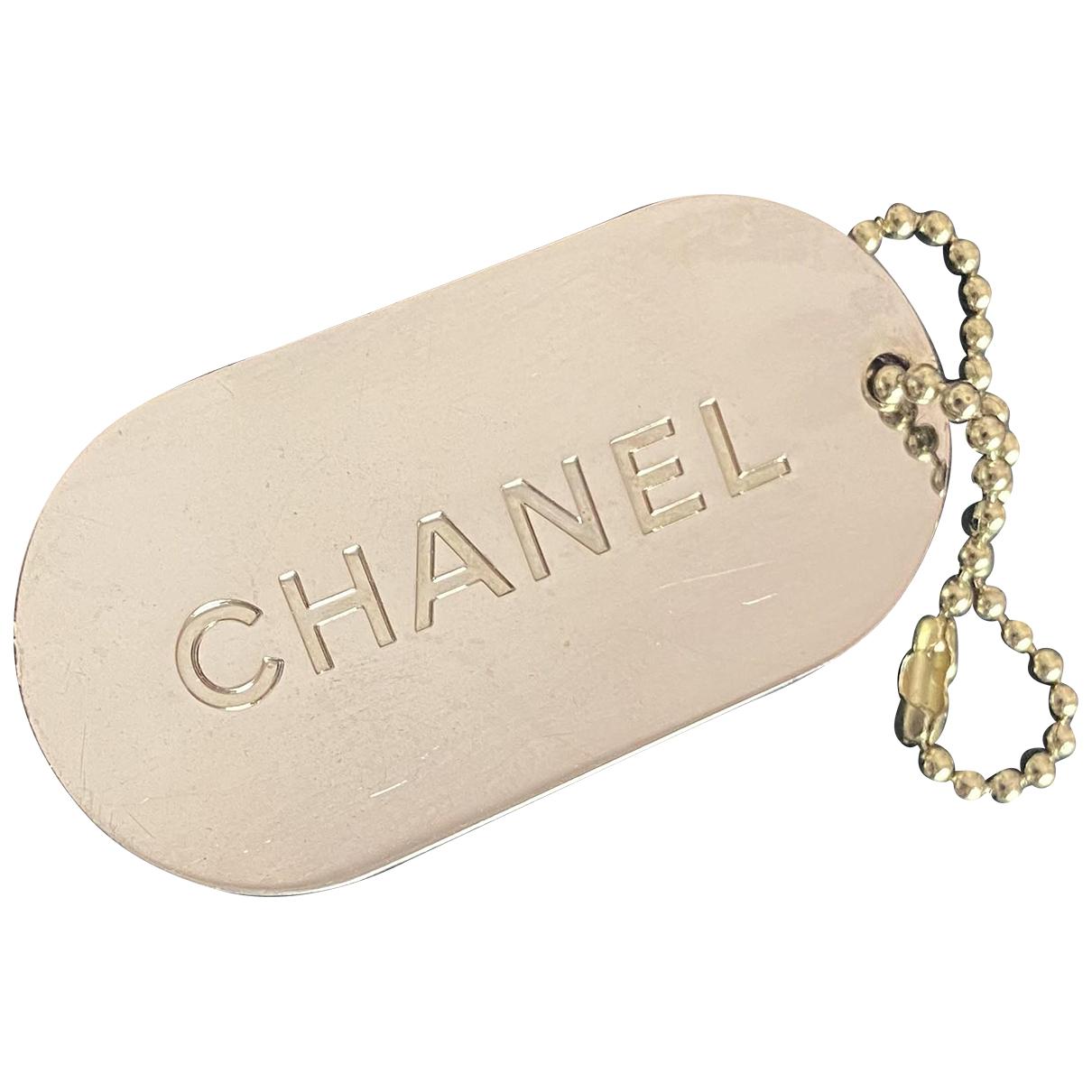 Chanel - Bijoux de sac CHANEL pour femme en acier - vert