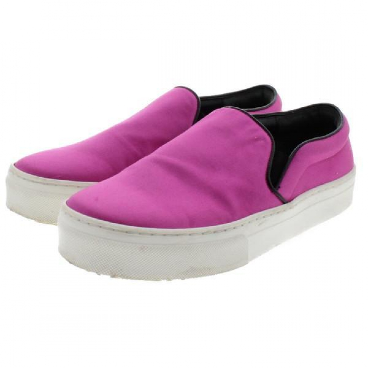 Celine - Baskets   pour femme en toile - violet