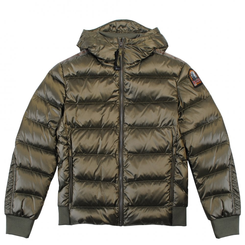Parajumpers Pharrell Puffa Jacket Size: YOUNG SMALL, Colour: KHAKI