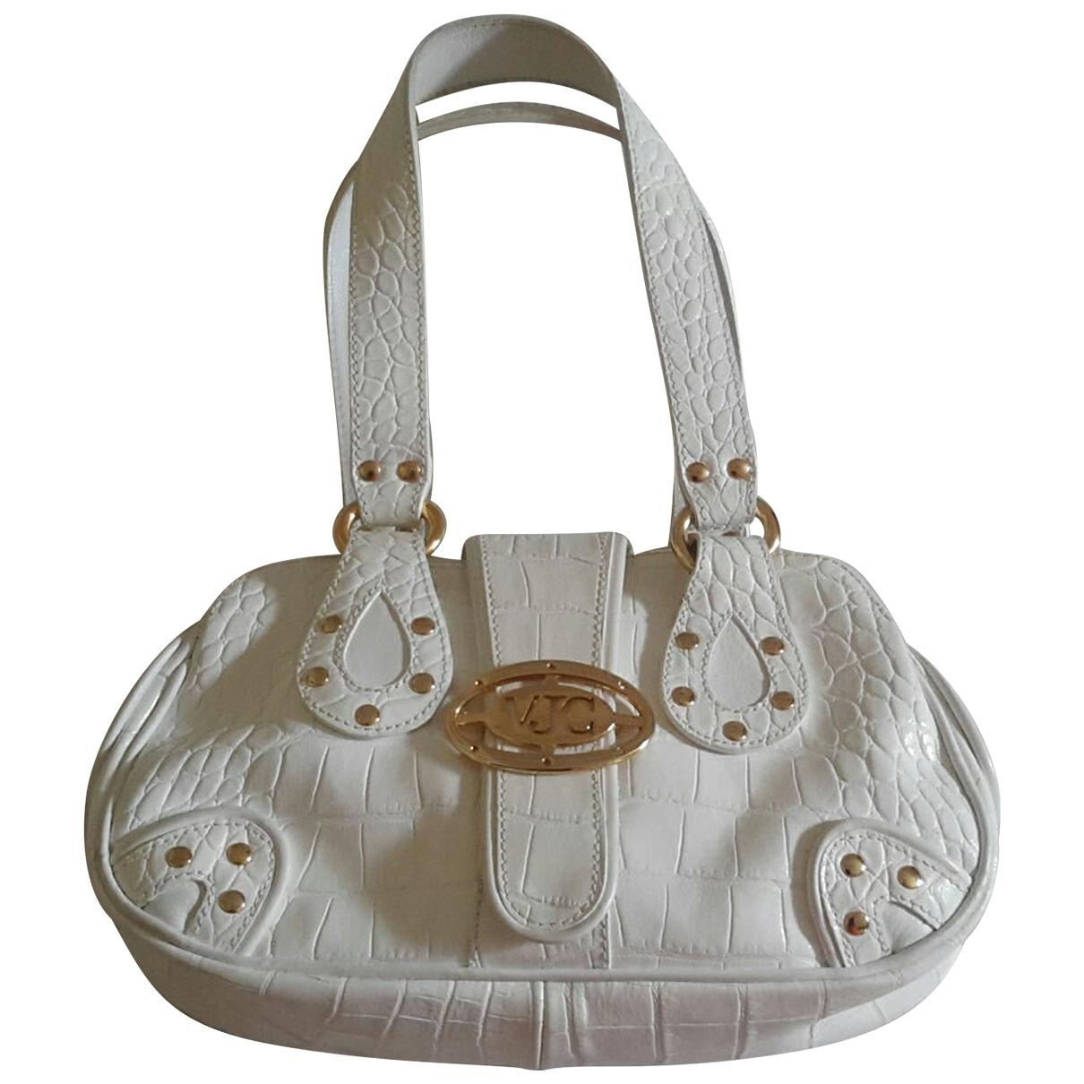 Versace \N White Leather handbag for Women \N