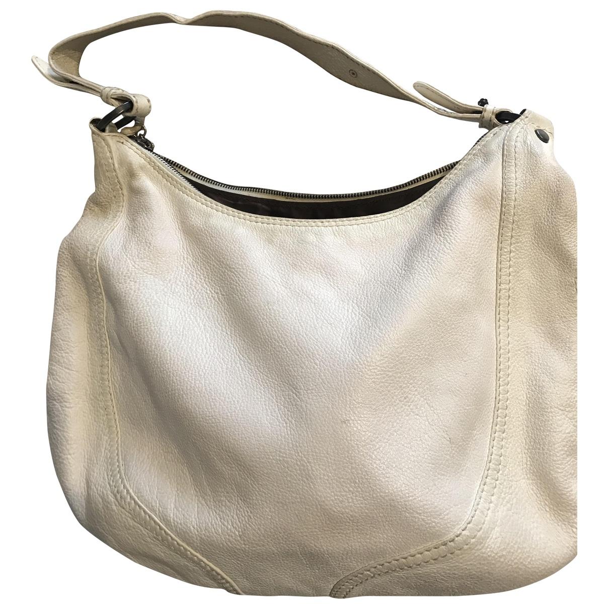 Valentino Garavani \N White Leather handbag for Women \N