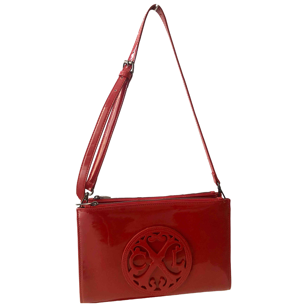Christian Lacroix \N Red Patent leather handbag for Women \N