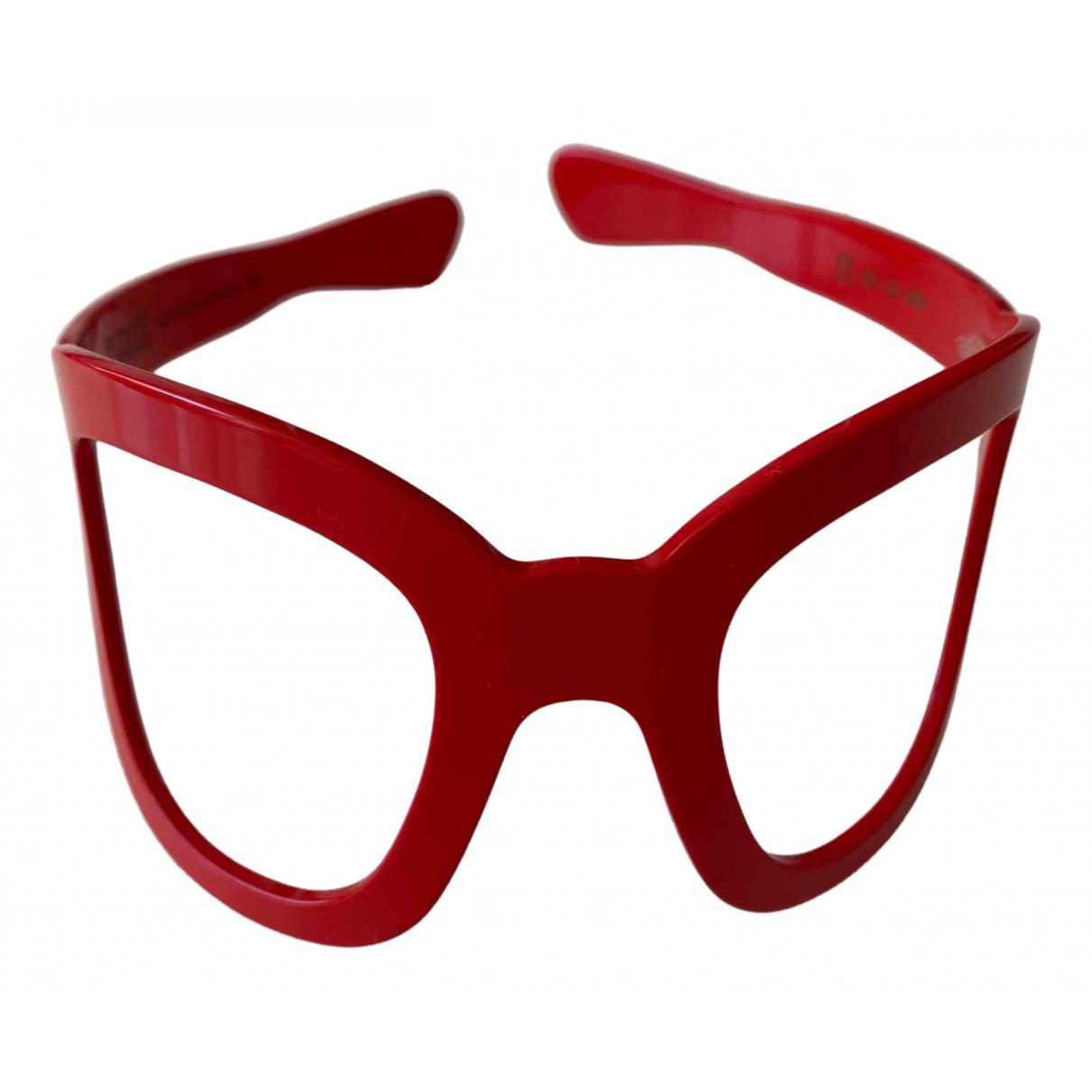 Eugenia Kim \N Haarschmuck in  Rot Kunststoff
