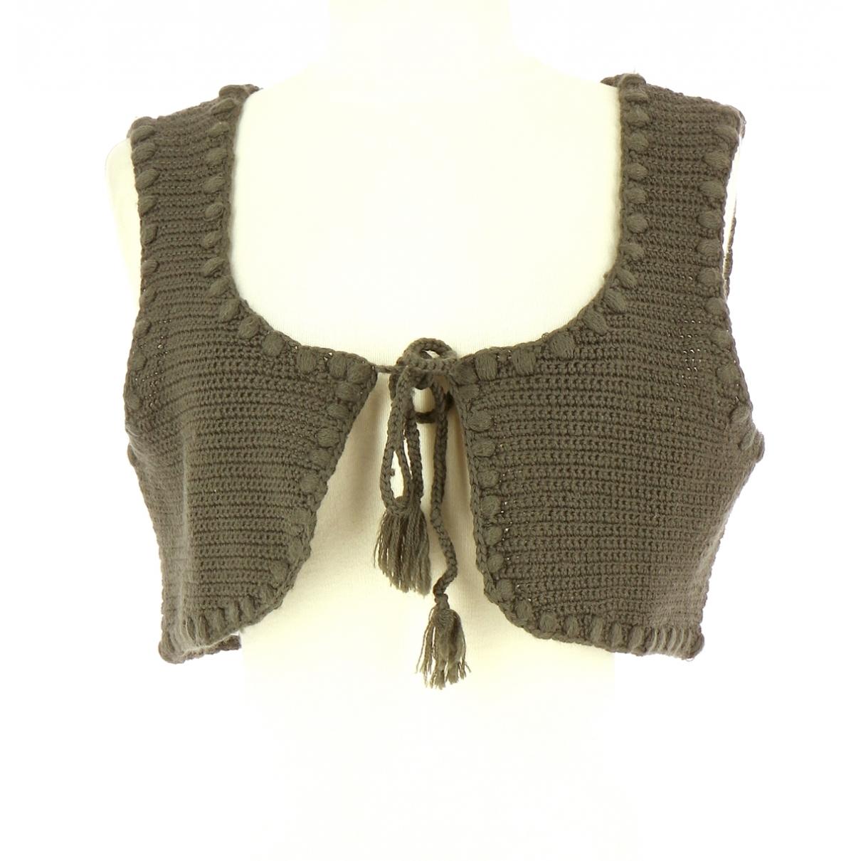 Comptoir Des Cotonniers - Pull   pour femme en laine - marron