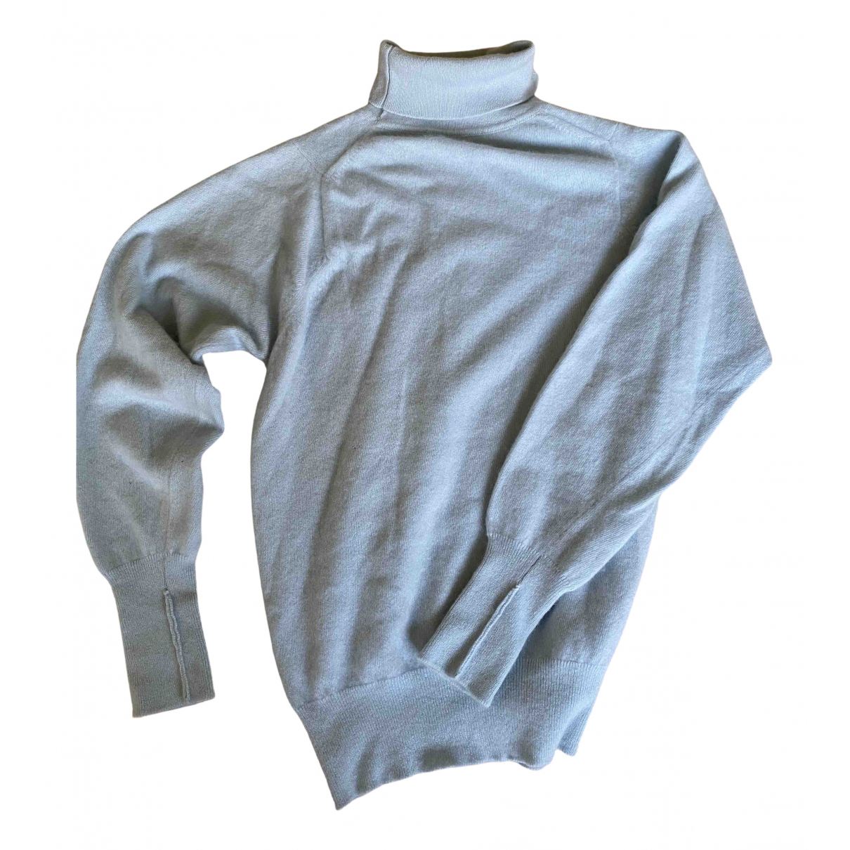 N. Peal - Pull   pour femme en cachemire - bleu