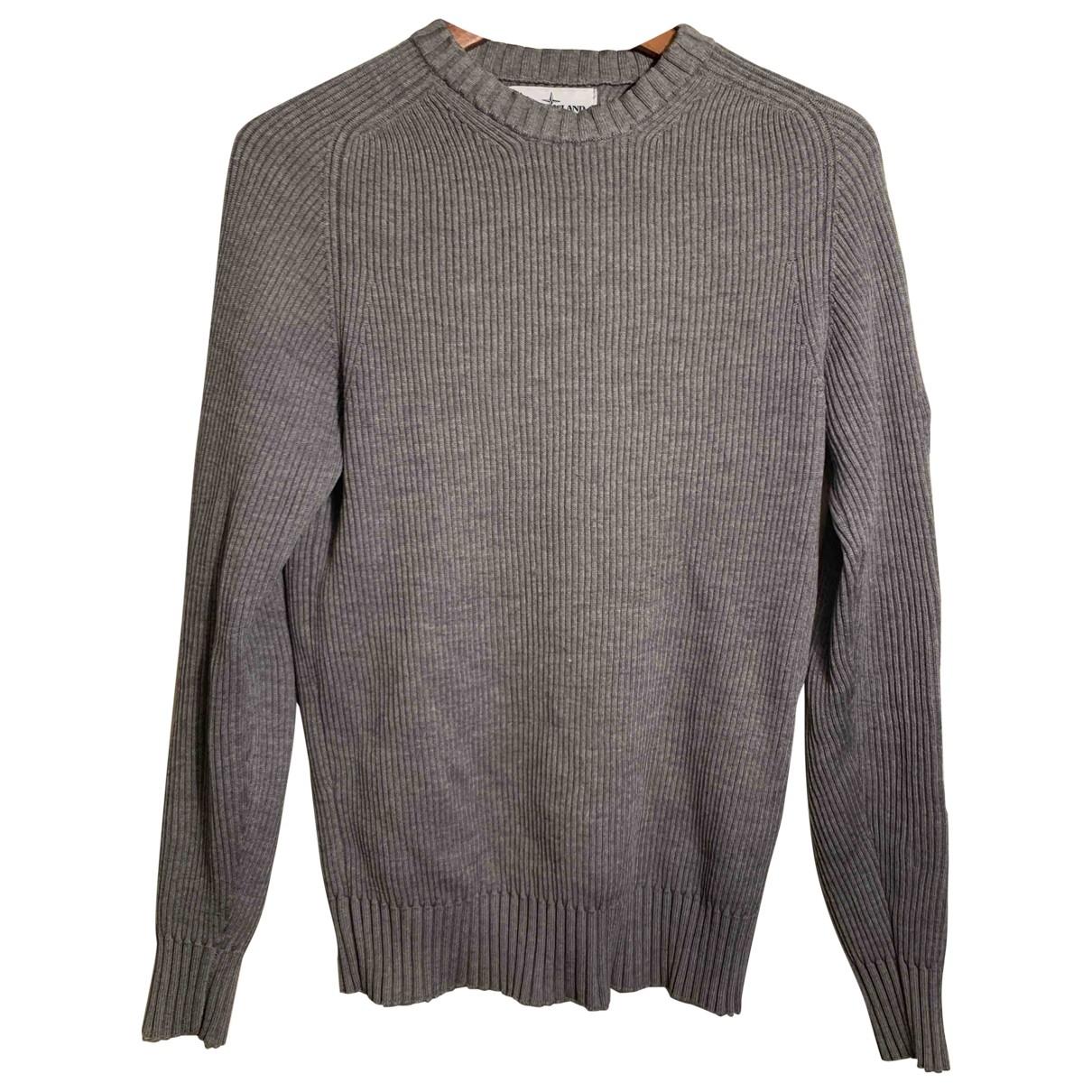 Stone Island \N Grey Wool Knitwear & Sweatshirts for Men M International