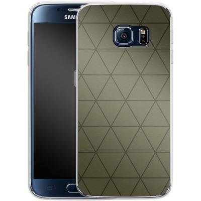 Samsung Galaxy S6 Silikon Handyhuelle - Moss von caseable Designs
