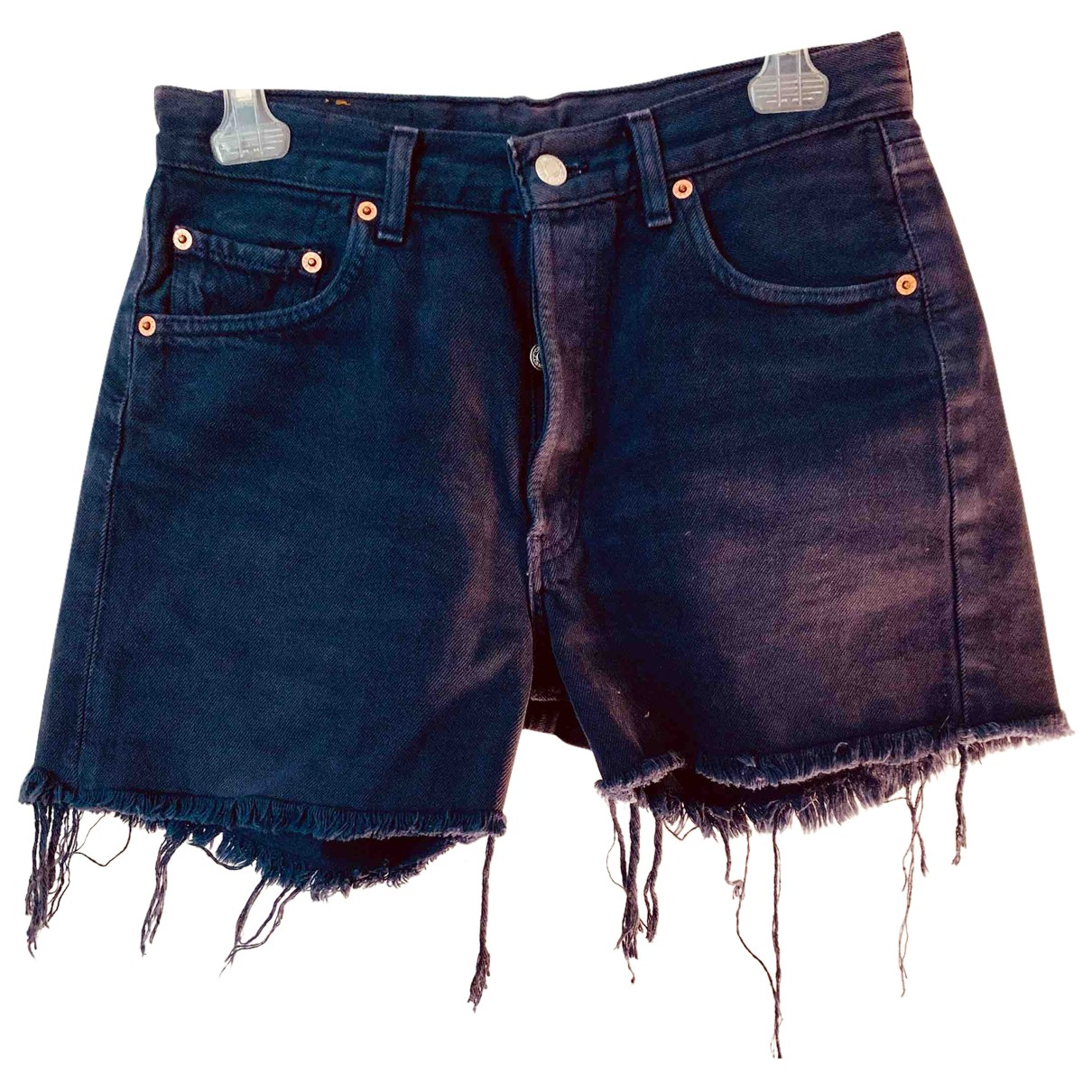 Levi's N Purple Denim - Jeans Shorts for Women 40 IT