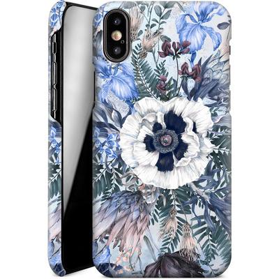 Apple iPhone X Smartphone Huelle - Frost von Stephanie Breeze