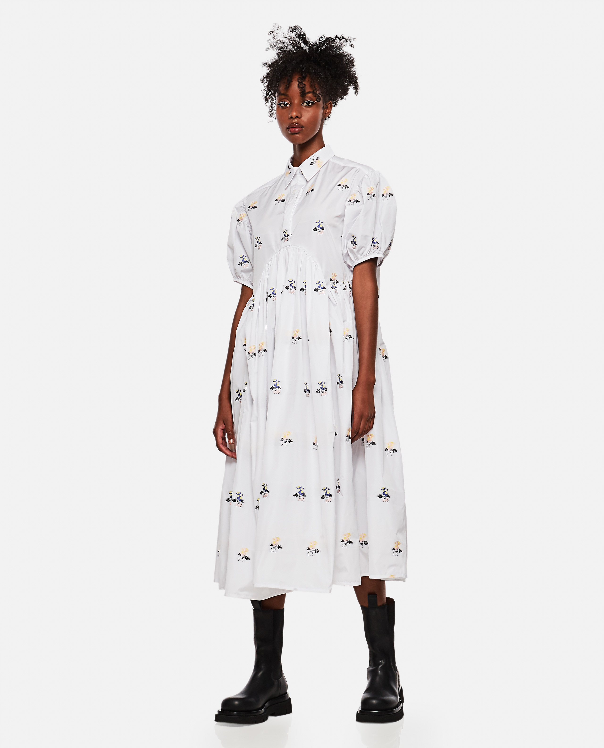 Mikko floral midi dress