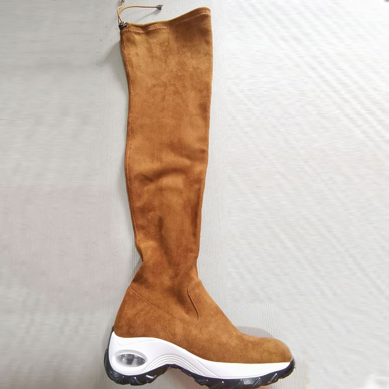 Ericdress Side Zipper Plain Round Toe Cotton Boots