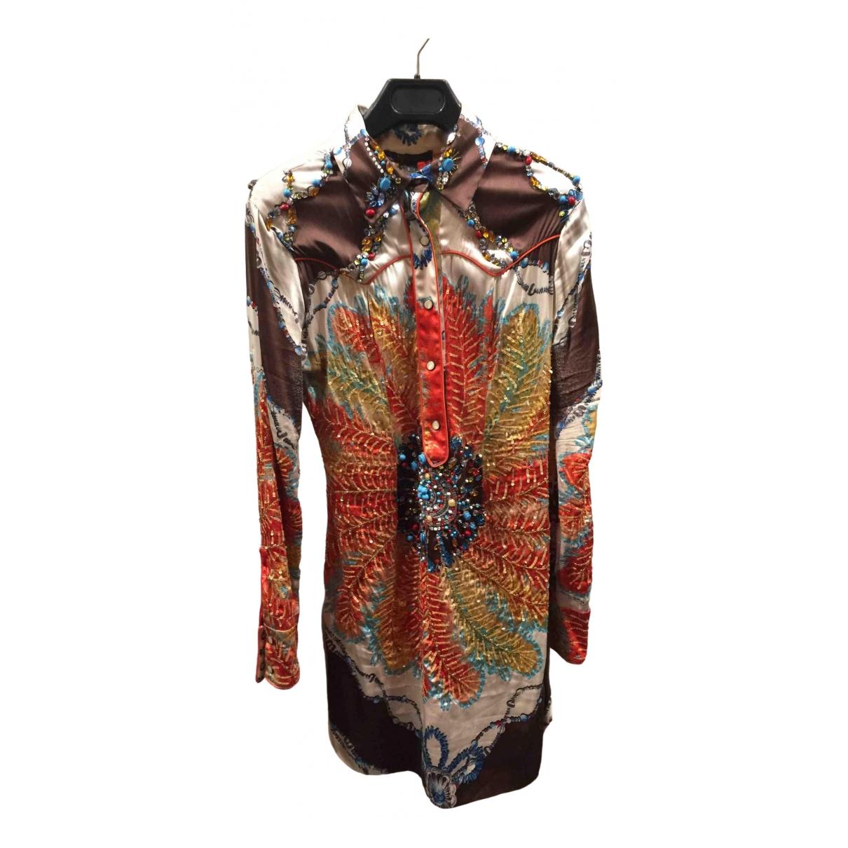 Roberto Cavalli \N Multicolour Cotton  top for Women S International