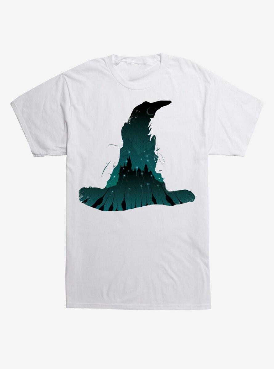Harry Potter Hogwarts Castles Outline T-Shirt