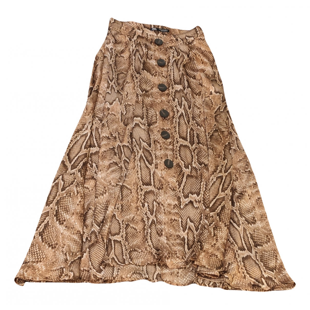 Zara N Camel skirt for Women XS International