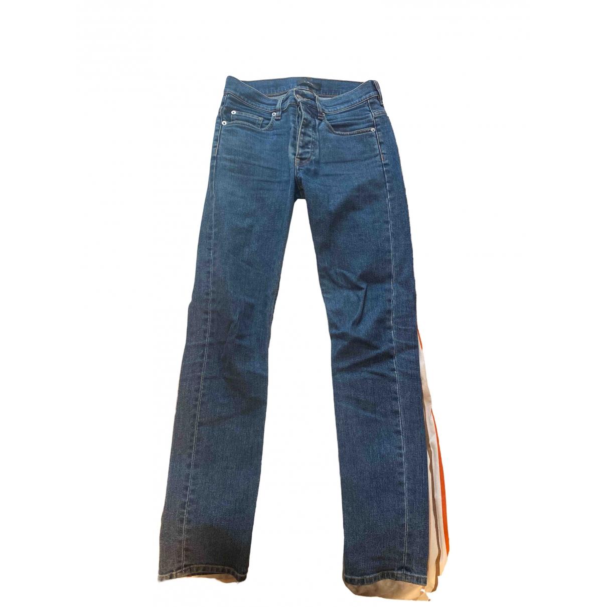 Pantalones en Denim - Vaquero Azul Iro