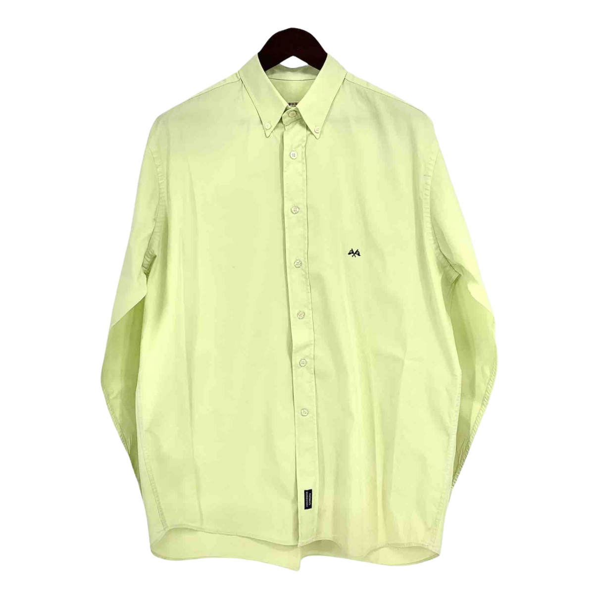 Burberry N Green Cotton Shirts for Men L International
