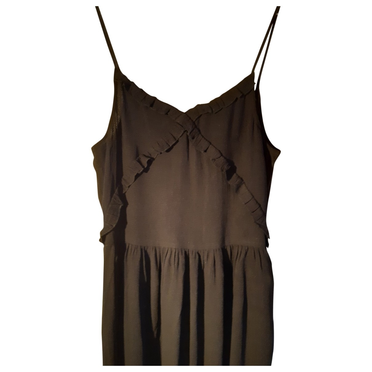 Sessun \N Kleid in  Schwarz Viskose
