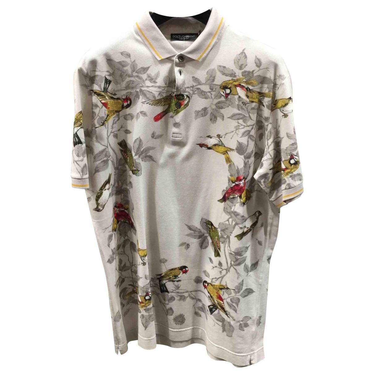 Polo en Algodon Dolce & Gabbana