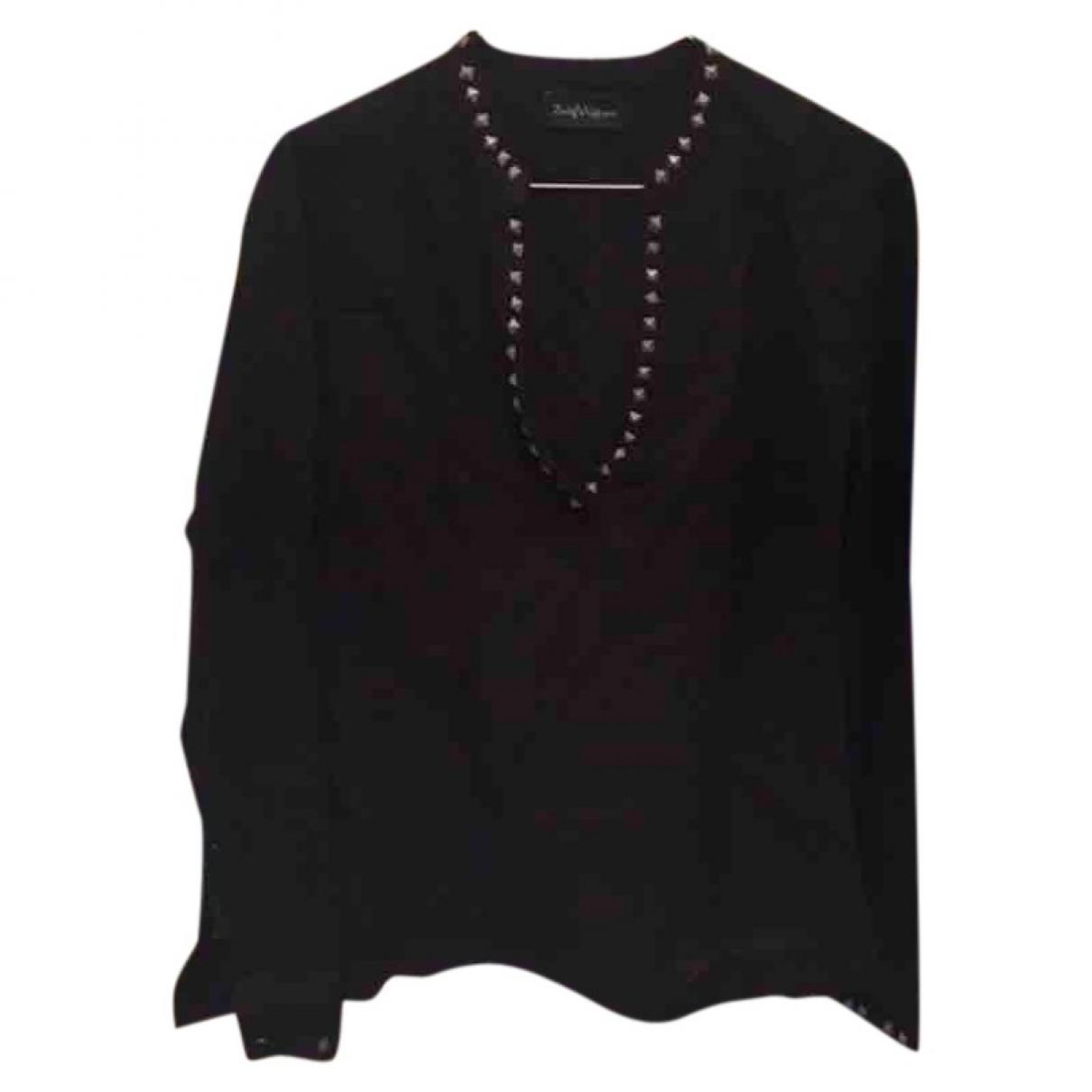 Zadig & Voltaire - Top   pour femme en laine - noir