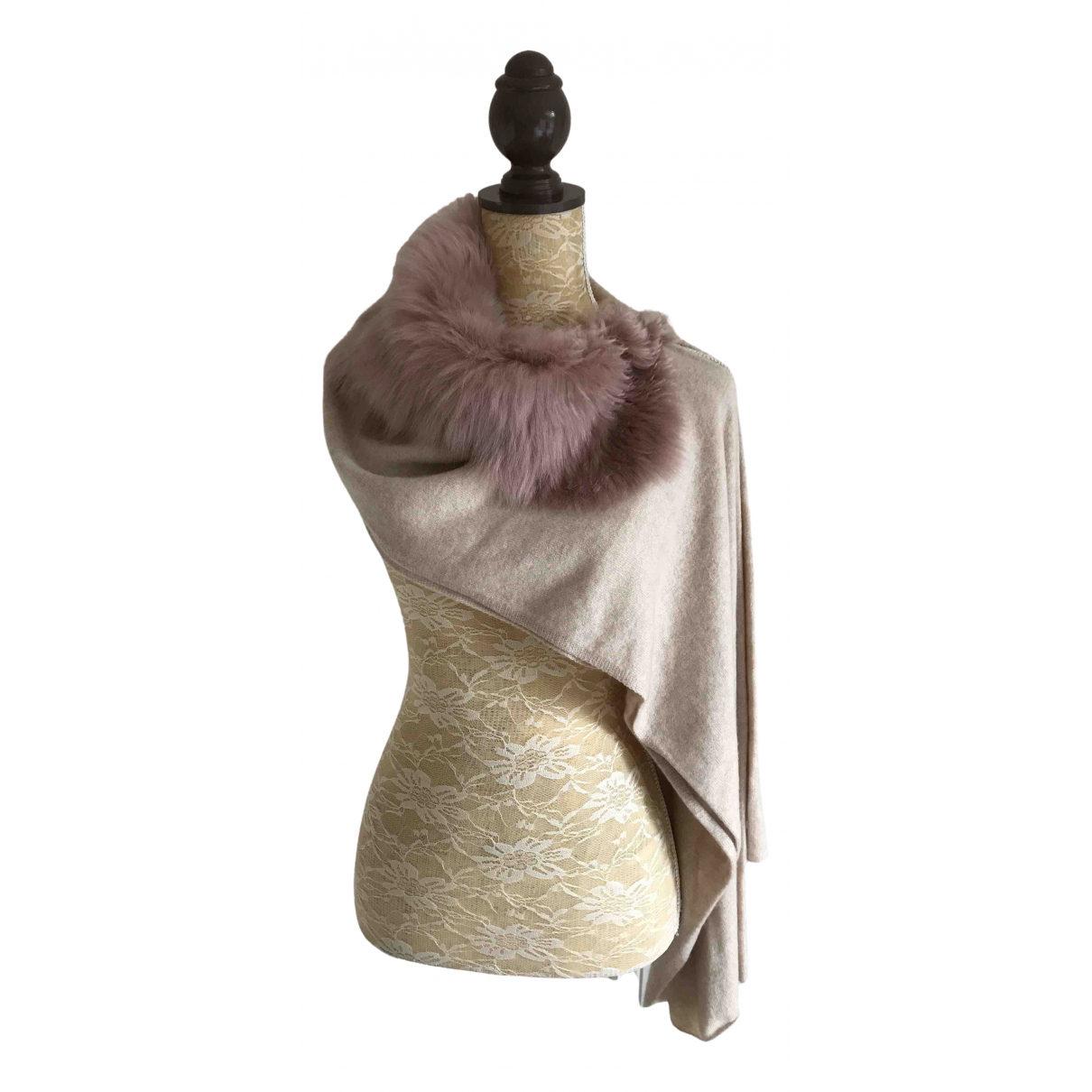 Karl Donoghue \N Beige Cashmere scarf for Women \N