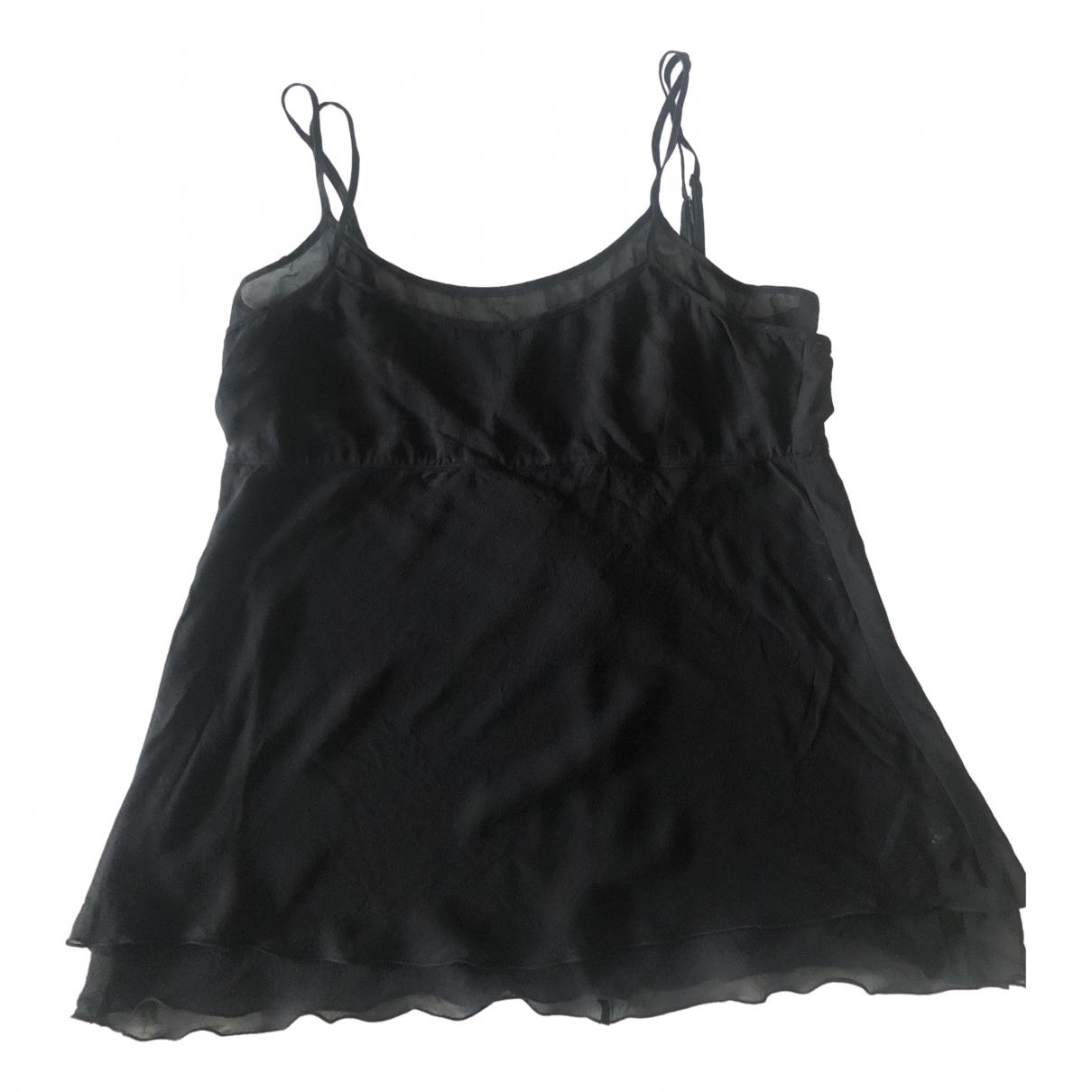 Karl Lagerfeld Pour H&m - Top   pour femme en soie - noir