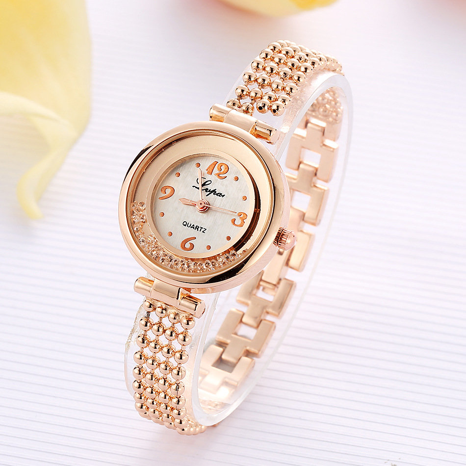 Elegant Design Shining Women Bracelet Watch Rhinestone Quartz Watch