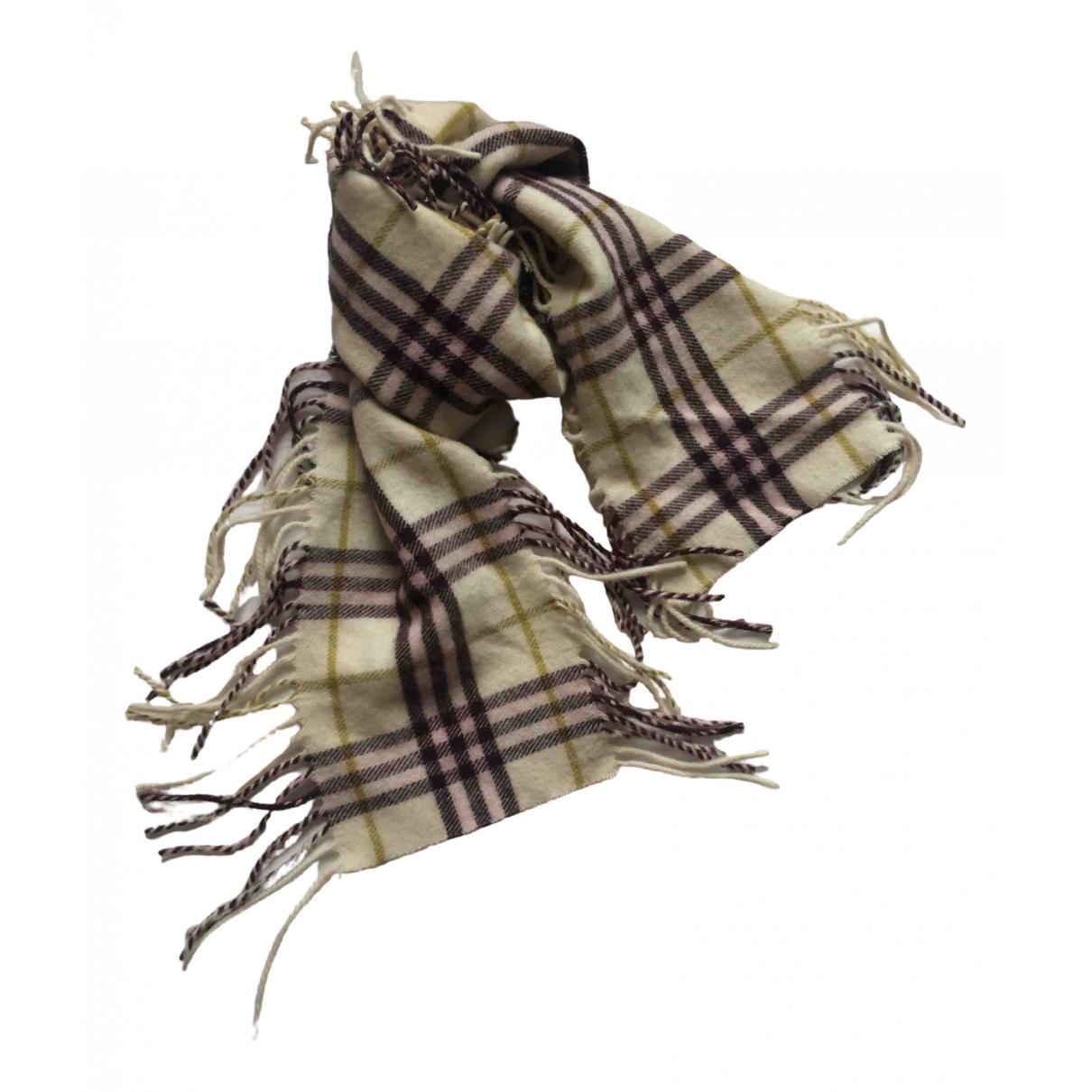 Burberry \N White Wool scarf for Women \N