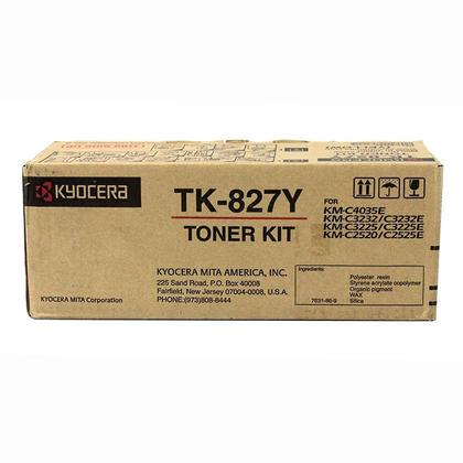 Kyocera-Mita TK827Y cartouche de toner originale jaune