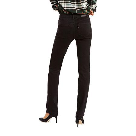 Levi's Classic Straight Jean, 10 Long , Black