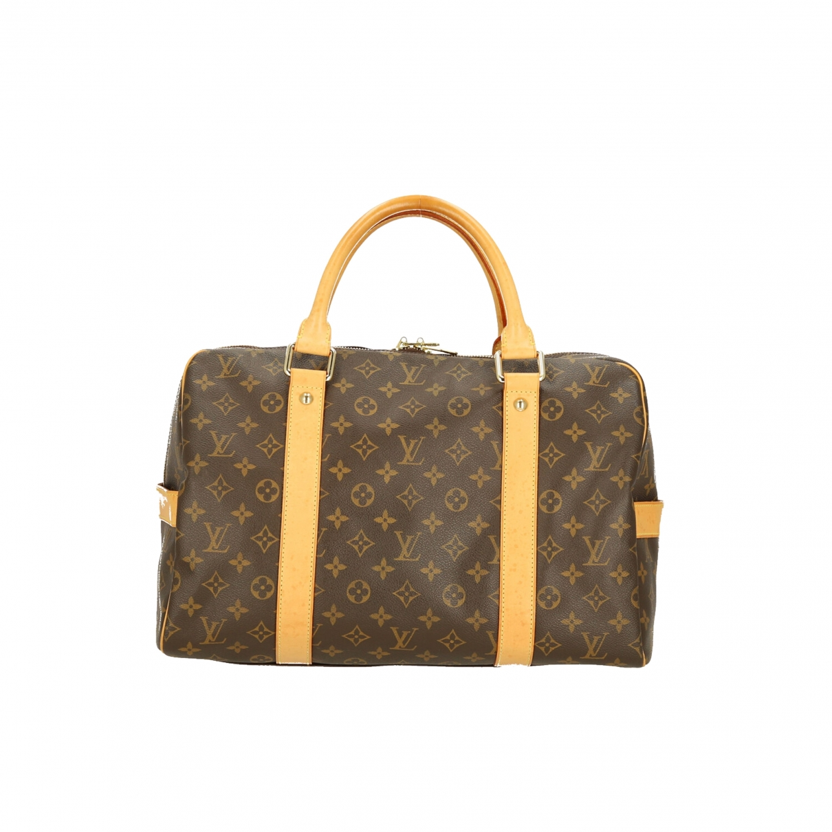 Louis Vuitton Carry All Brown Cloth handbag for Women \N