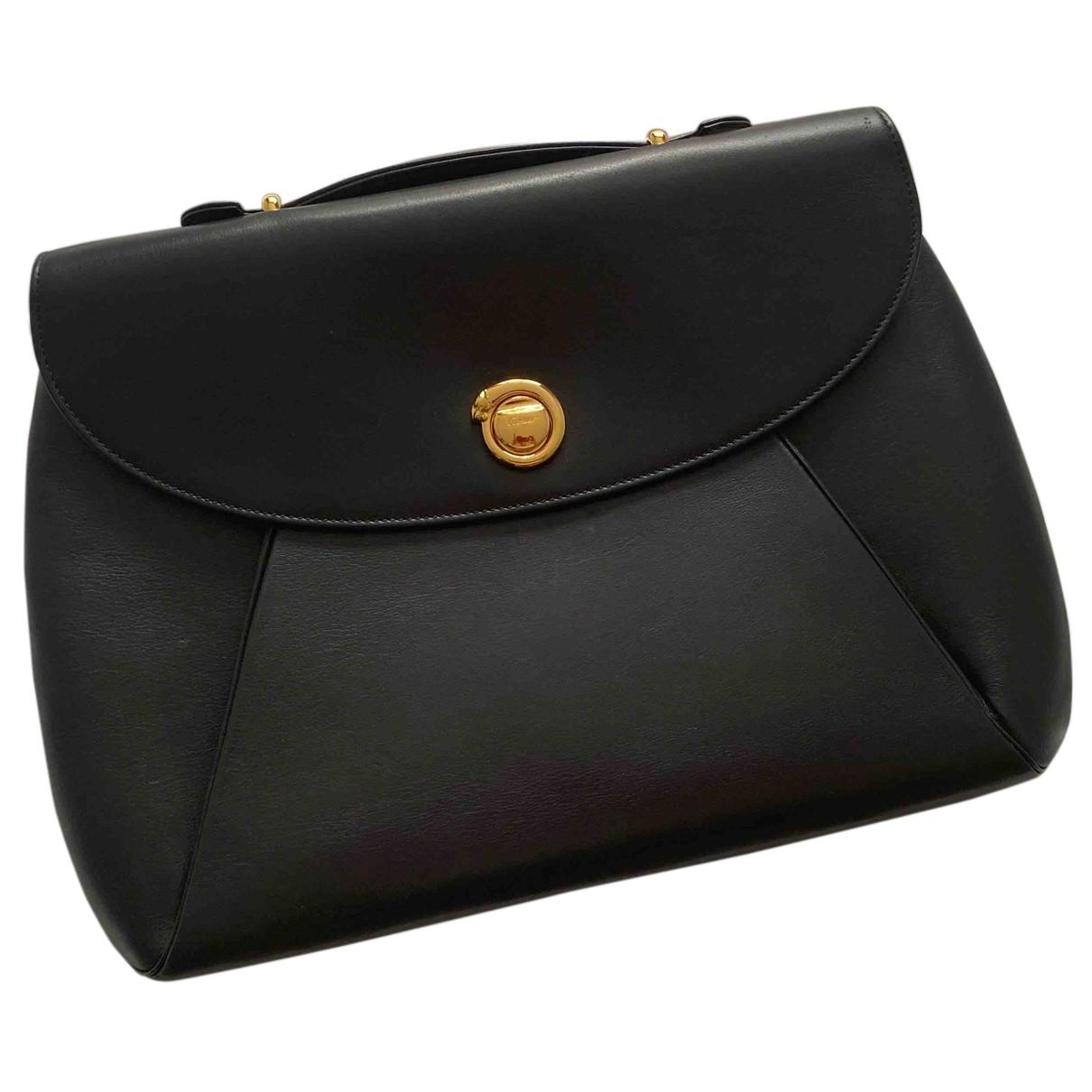 Cartier - Pochette Panthere pour femme en cuir - noir