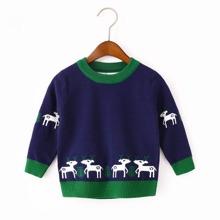 Jerseys de niñito Ribete en contraste Animal Casual