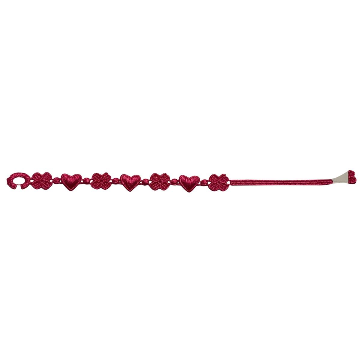 Cruciani N Cloth bracelet for Women N